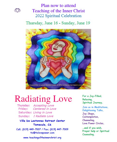 Spiritual Retreat 2022 - Radiating Love